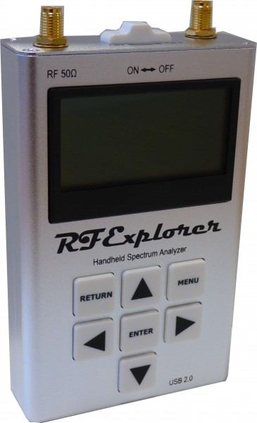 RF Explorer 6G Combo Handheld Spectrum Analyzer